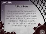 a final date21