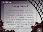 losing oneself