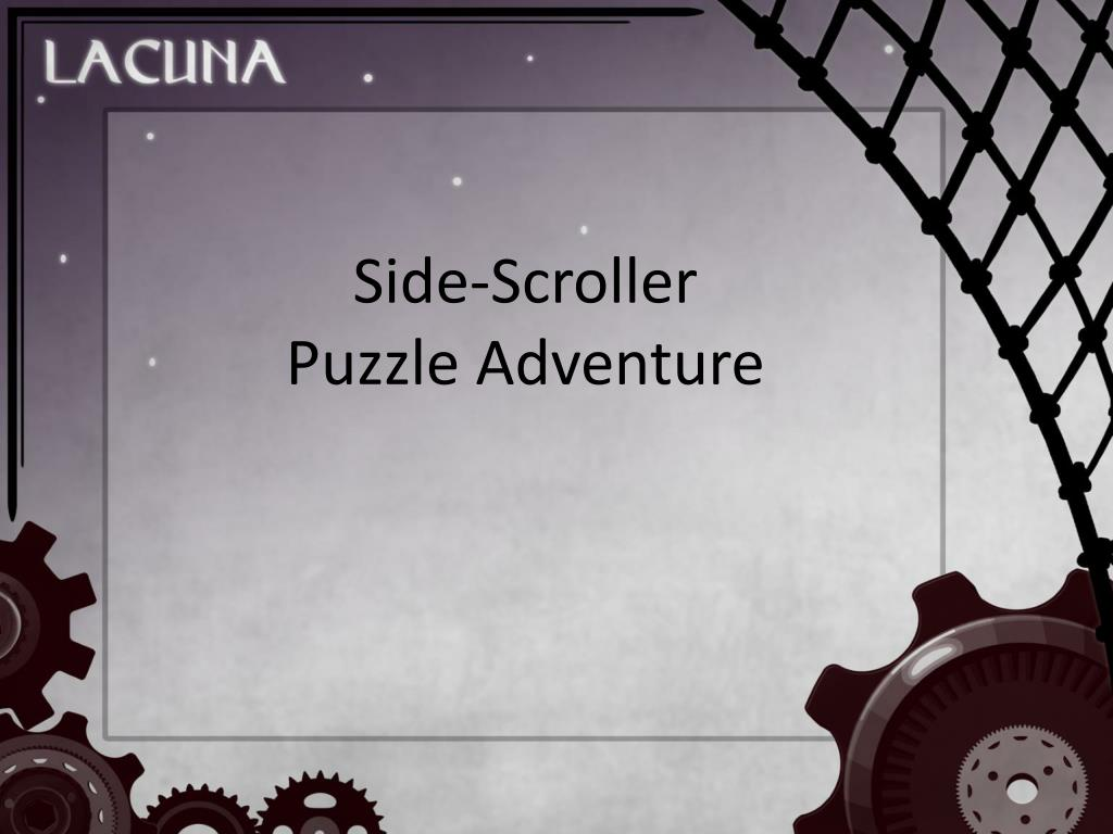 side scroller puzzle adventure l.