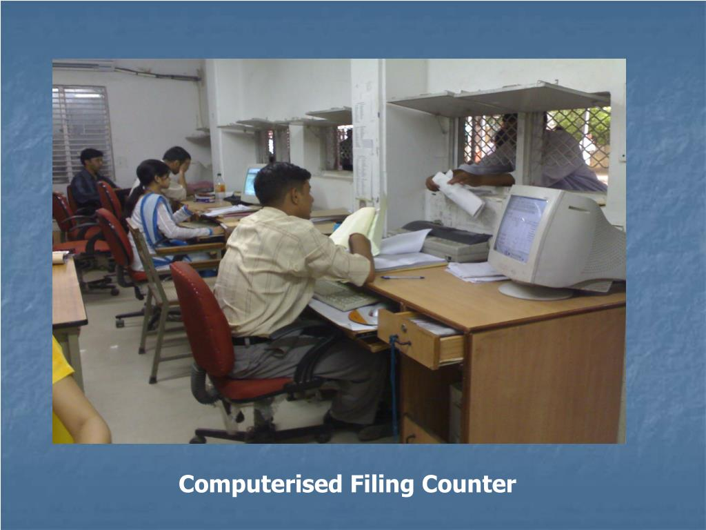 Computerised Filing Counter