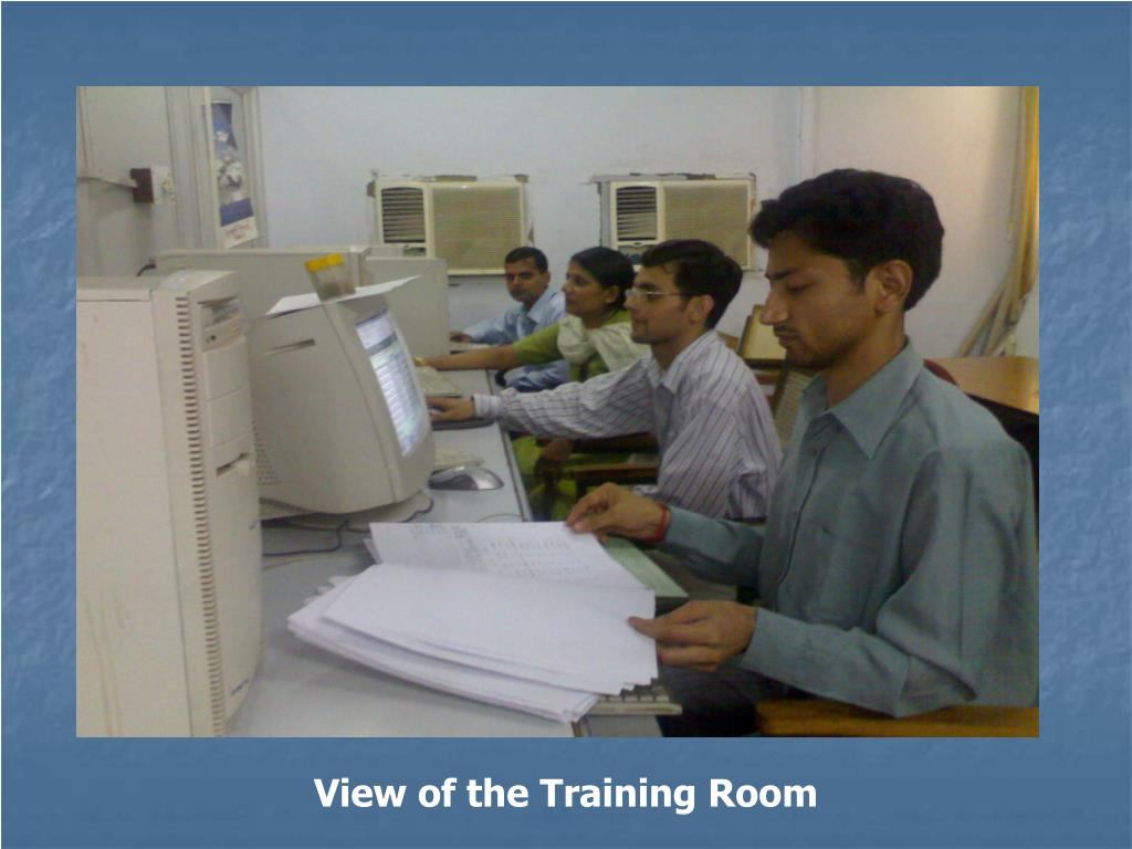 View of the Training Room