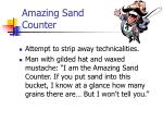 amazing sand counter23
