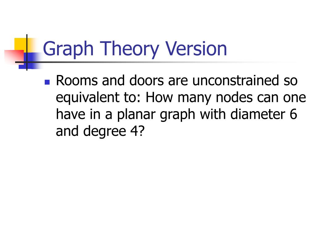 Graph Theory Version