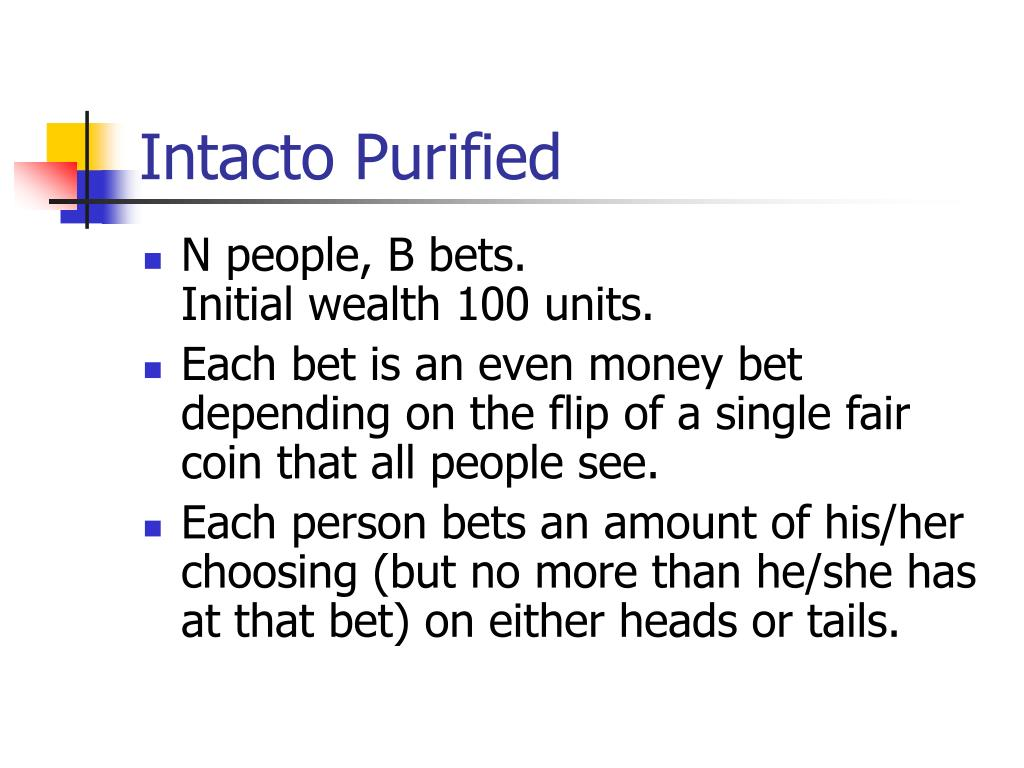 Intacto Purified