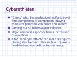 cyberathletes
