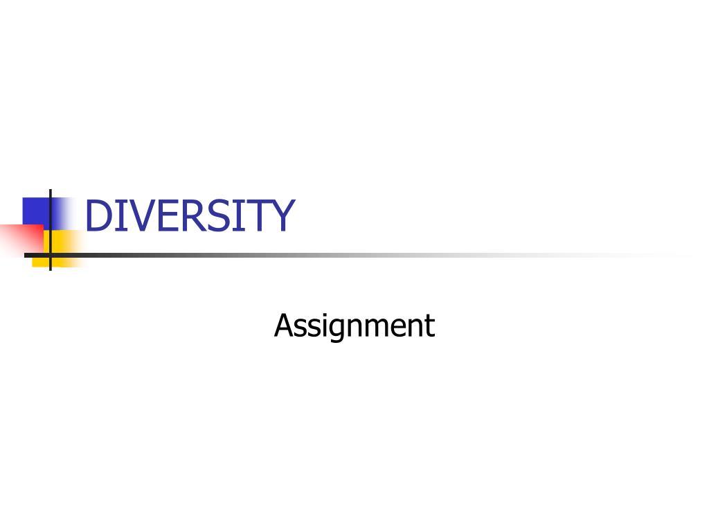 diversity l.