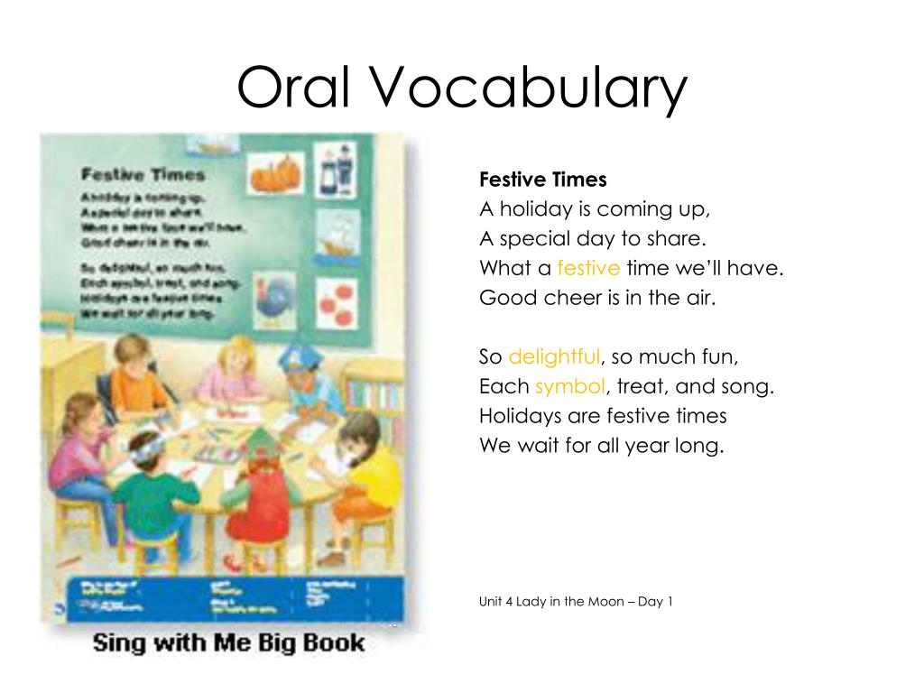 Oral Vocabulary