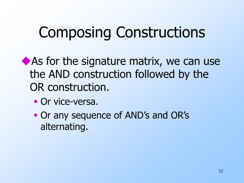 Composing Constructions
