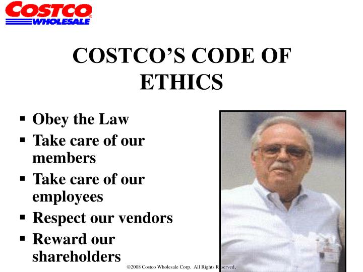 costco code of ethics
