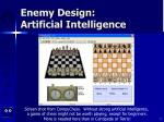 enemy design artificial intelligence8