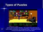types of puzzles52
