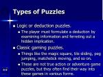 types of puzzles61