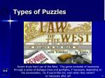 types of puzzles66