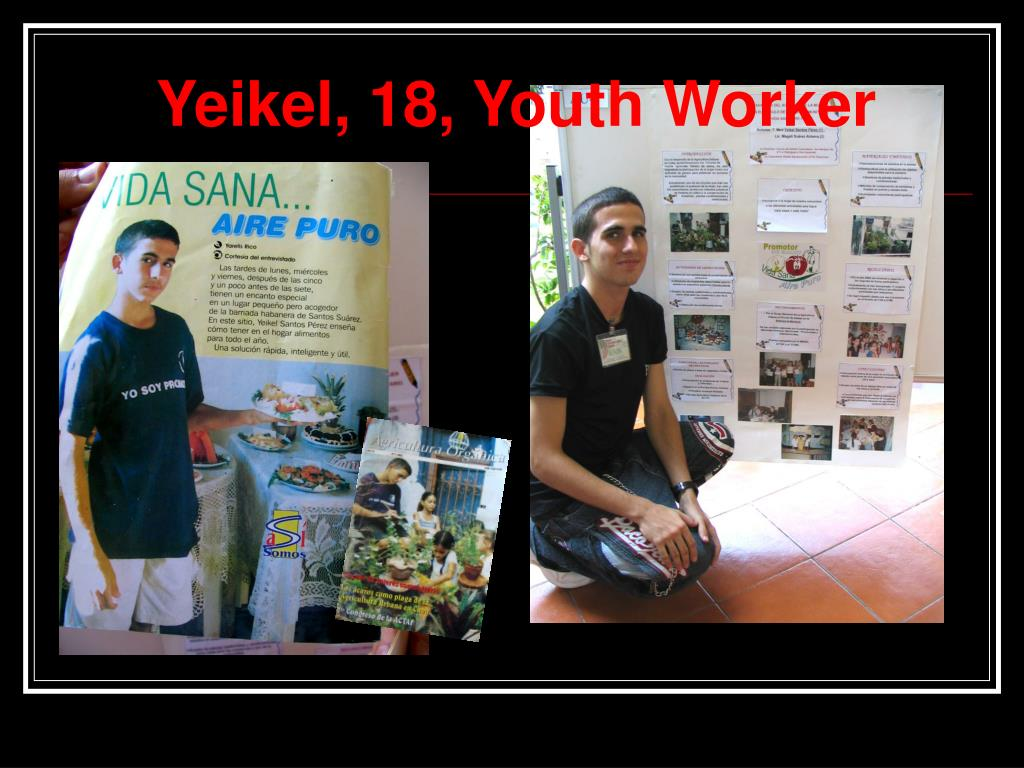 Yeikel, 18, Youth Worker