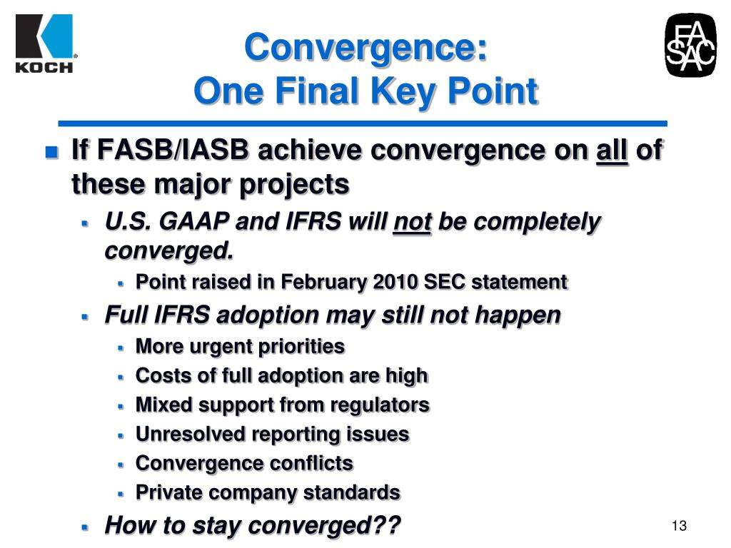 Convergence: