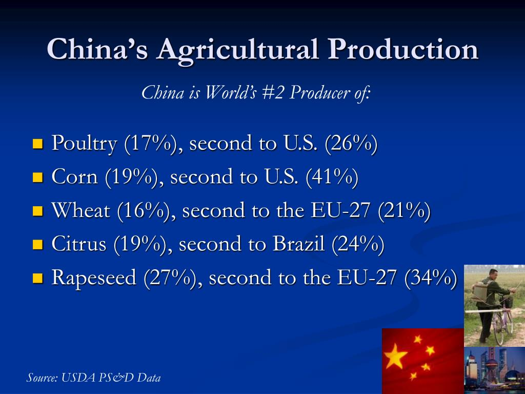 China's Agricultural Production