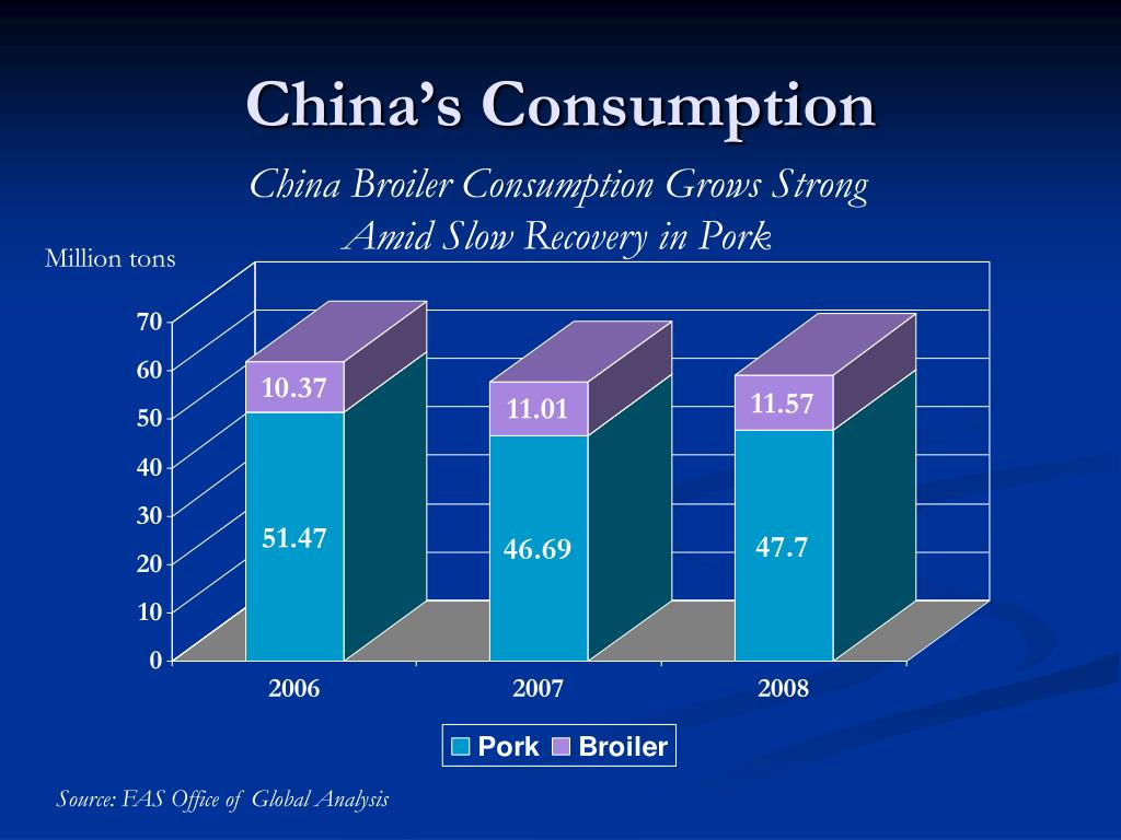 China's Consumption