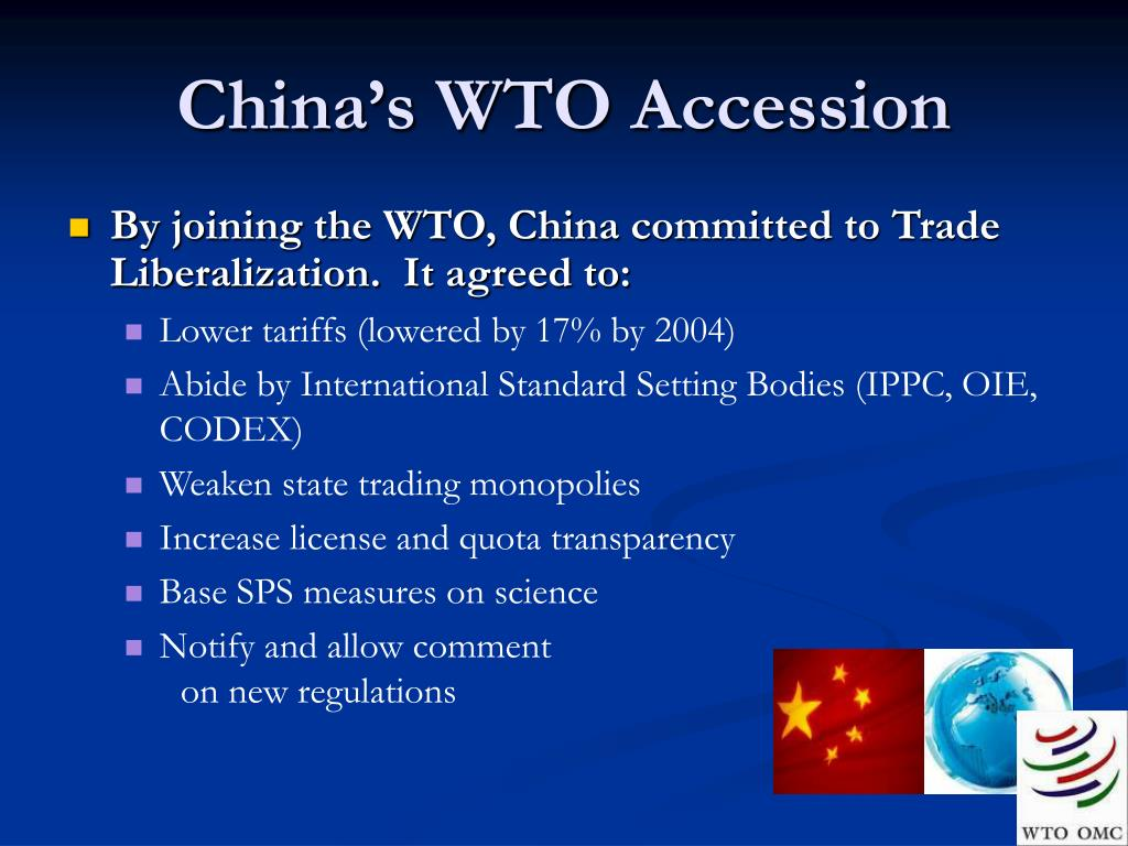 China's WTO Accession