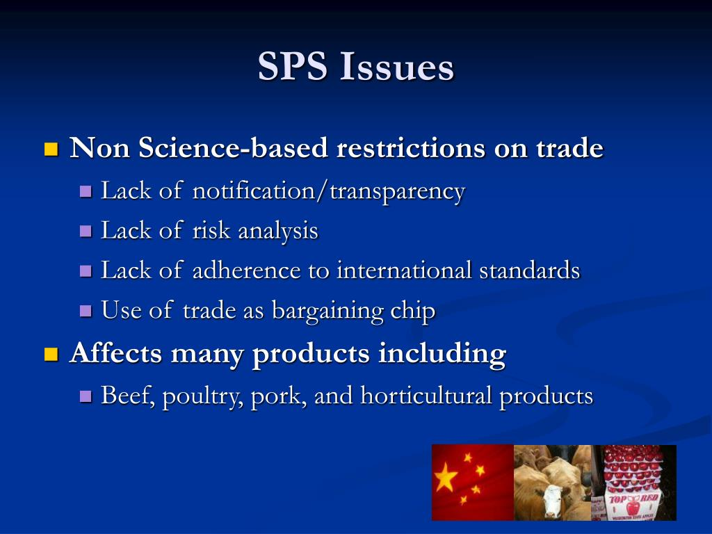 SPS Issues