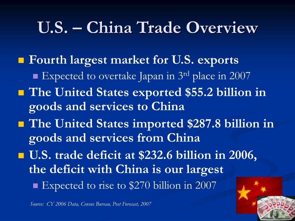 U.S. – China Trade Overview