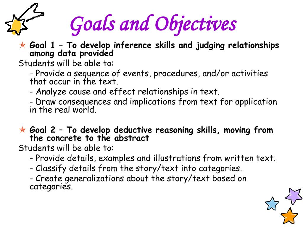 examples of deductive detailed lesson plan