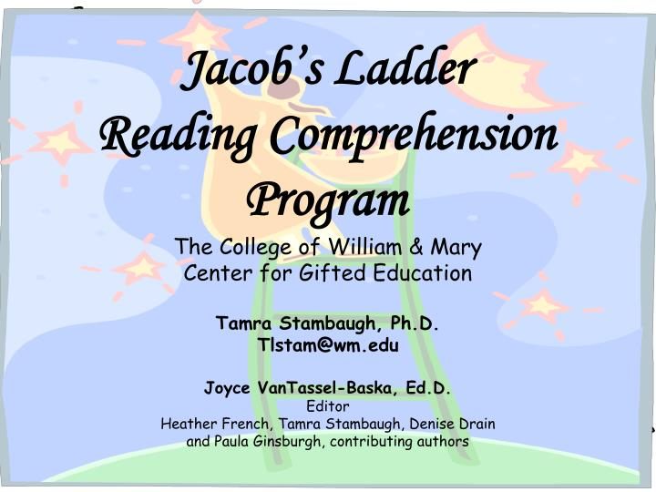 Jacobs LadderReading Comprehension Program