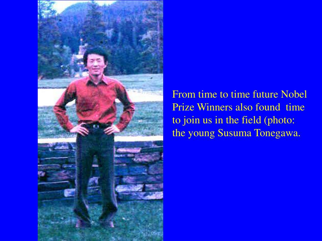 From time to time future Nobel