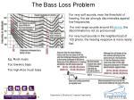 the bass loss problem