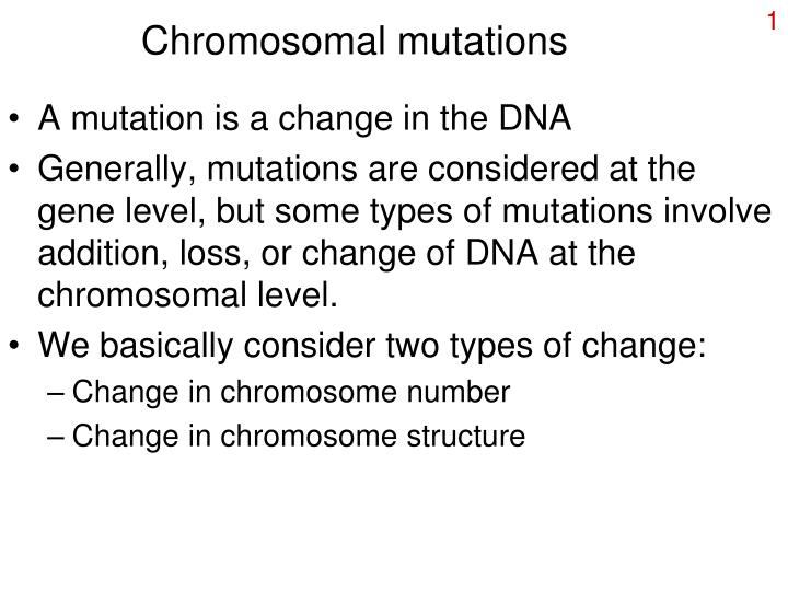 investigate a disease that is caused by chromosomal mutations when does the mutation occur what chro In a patient affected by premature ovarian failure, a reciprocal translocation between chromosomes x and 3 and an additional heterozygous missense mutation in the x-linked gene pof1b were detected.
