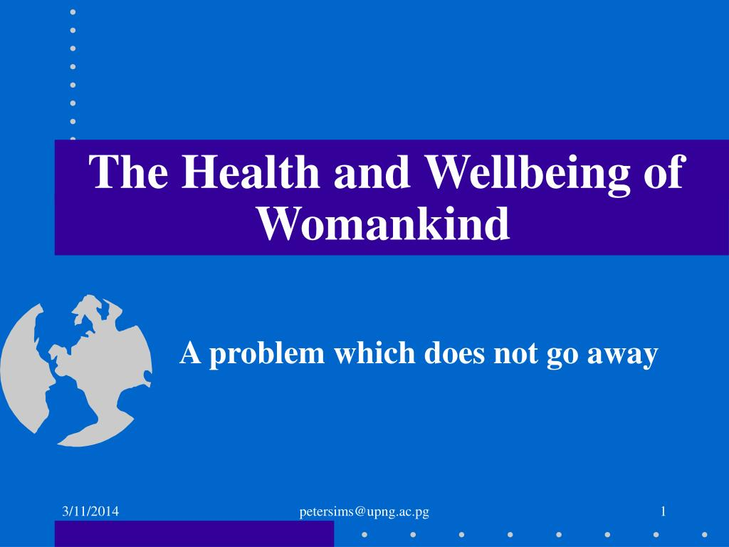 The Health and Wellbeing of