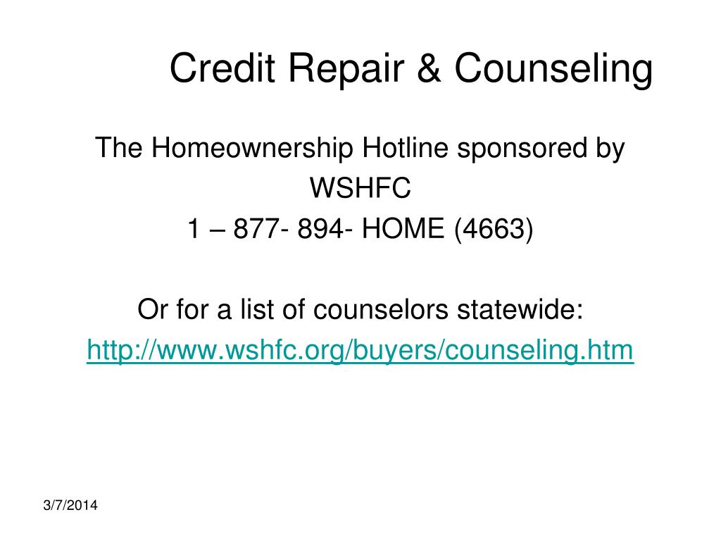 Credit Repair & Counseling