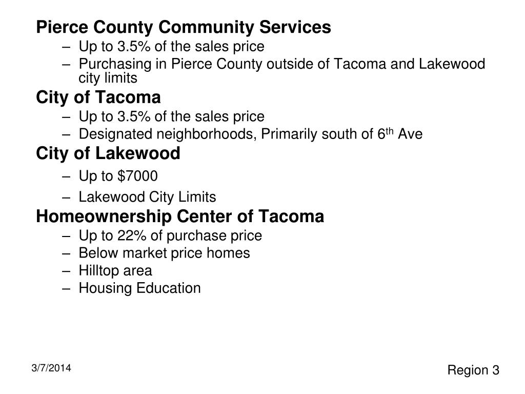 Pierce County Community Services