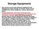 storage equipments