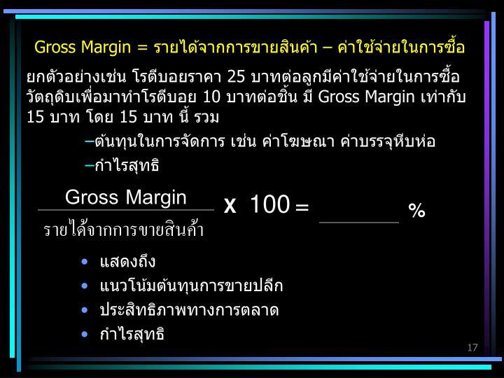 Gross Margin