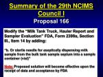 summary of the 29th ncims council i52