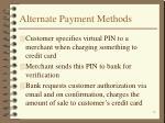 alternate payment methods18
