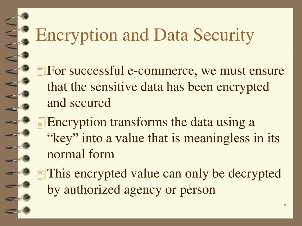 Encryption and Data Security
