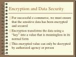 encryption and data security7