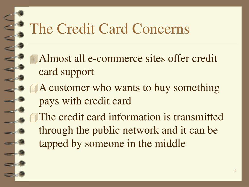 The Credit Card Concerns