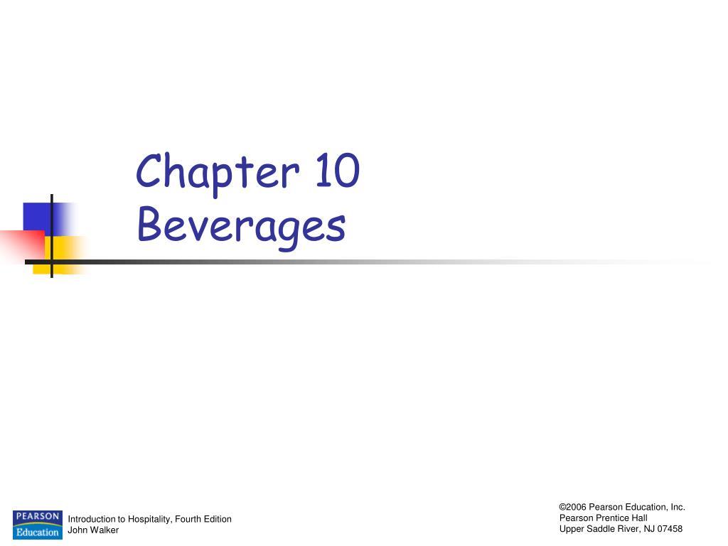 chapter 10 beverages l.