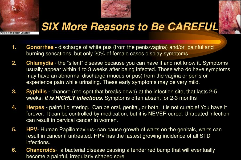 SIX More Reasons to Be CAREFUL