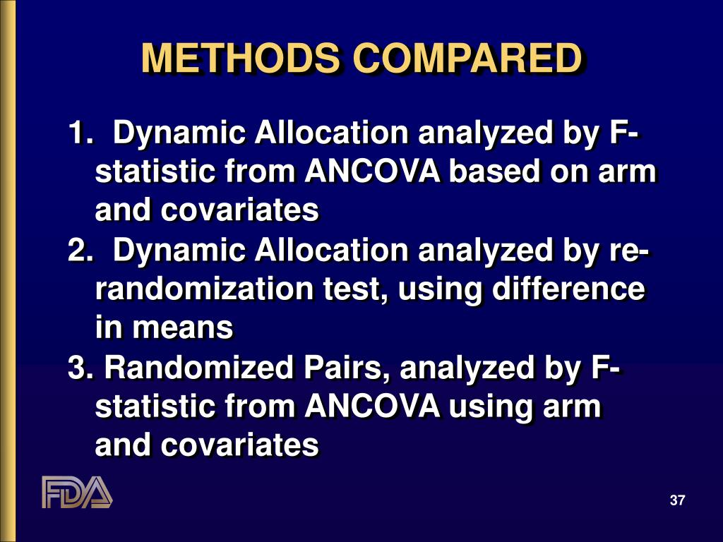 METHODS COMPARED