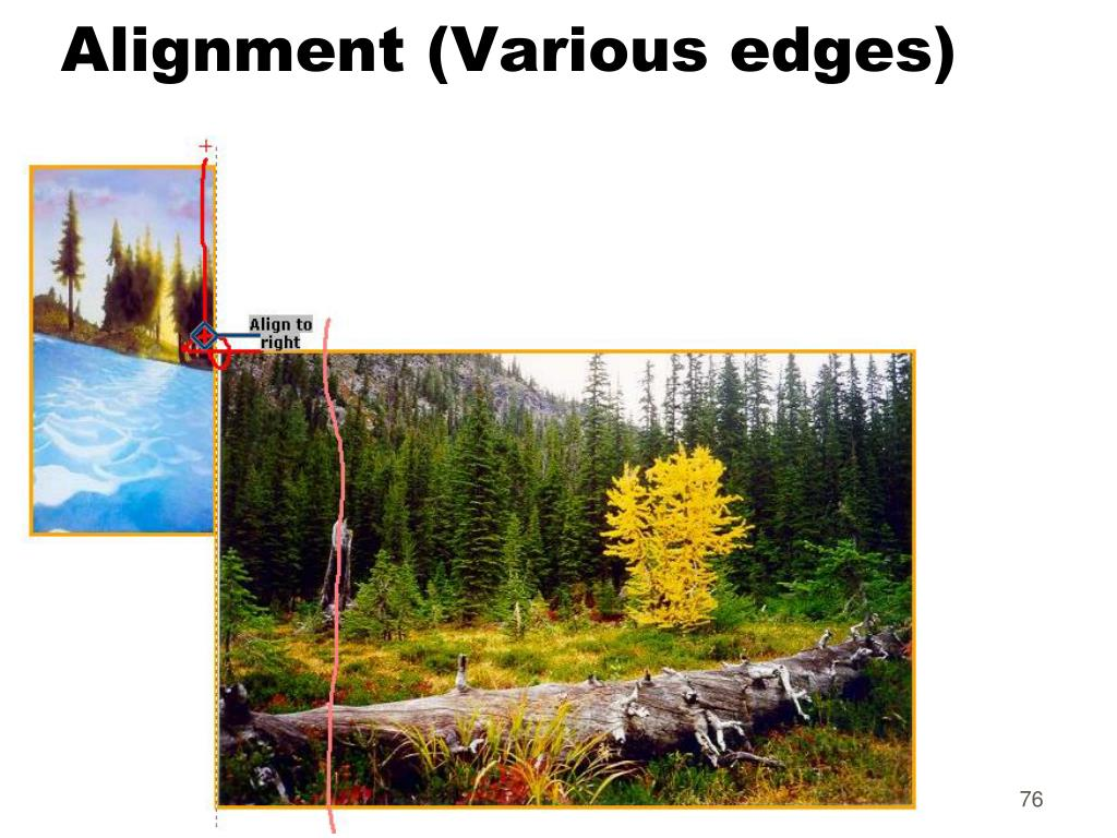 Alignment (Various edges)
