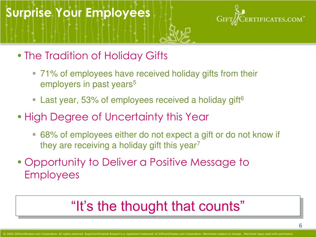 Surprise Your Employees