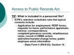 access to public records act36