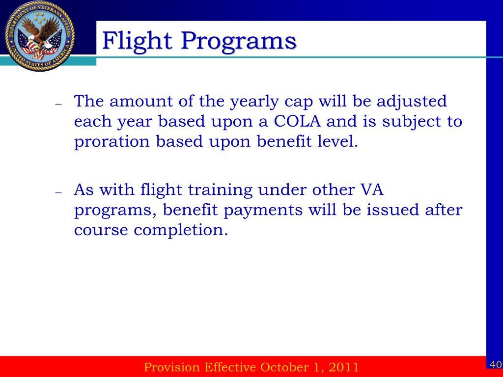 Flight Programs