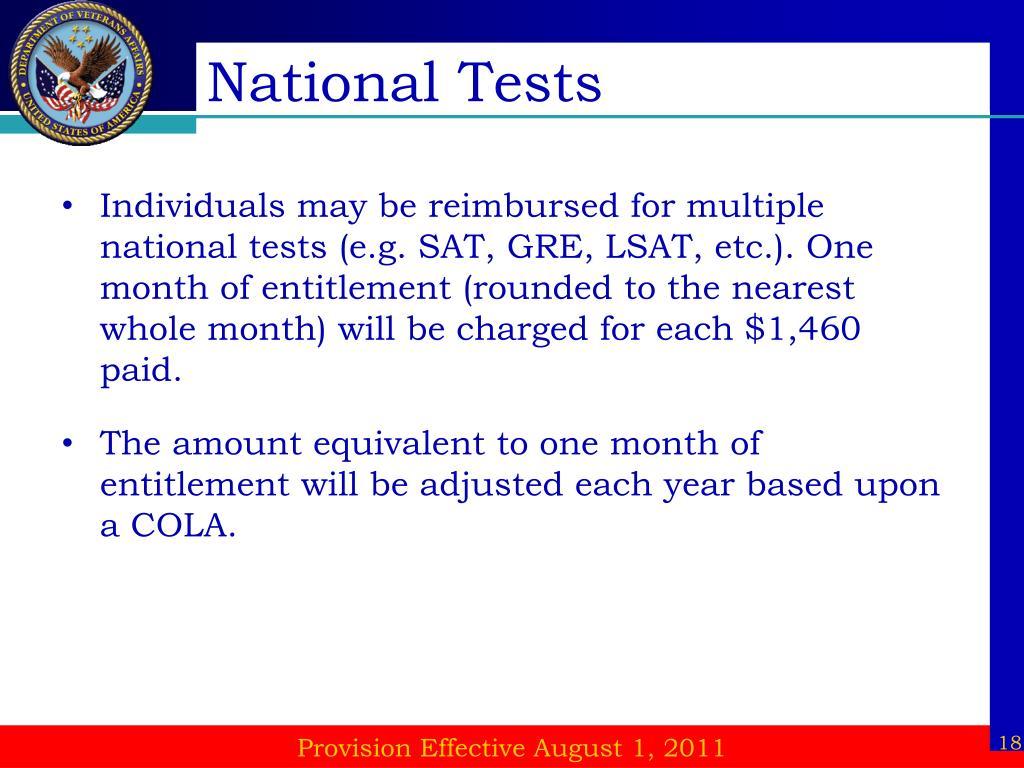 National Tests
