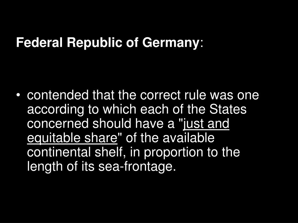 Federal Republic of Germany