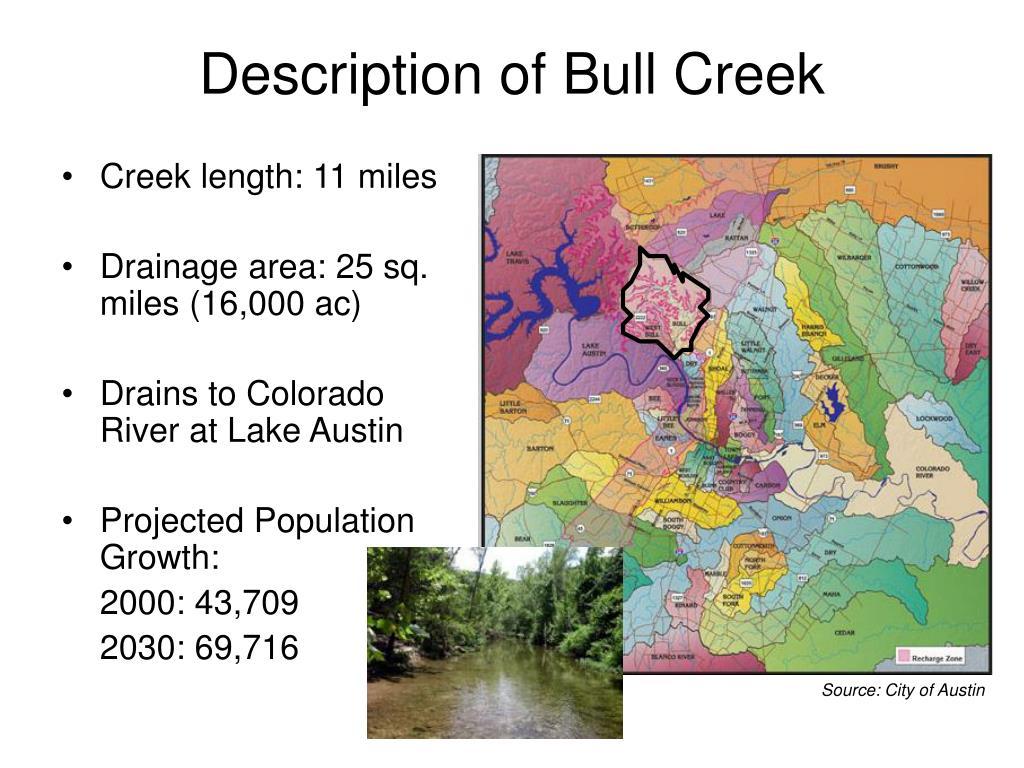 Description of Bull Creek