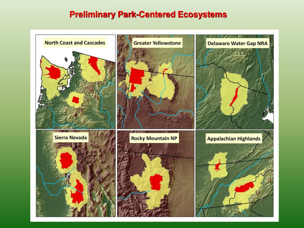 Preliminary Park-Centered Ecosystems